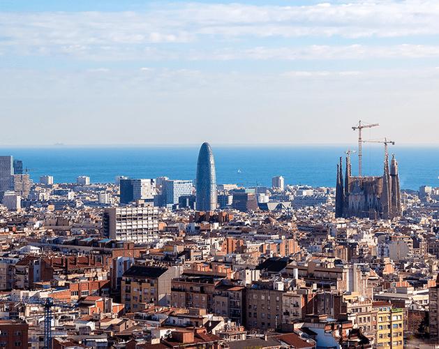 Barcelona skyline edit final