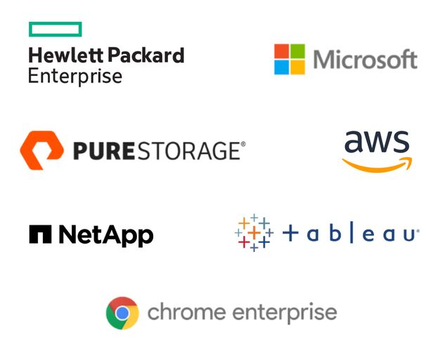partner logos public sector