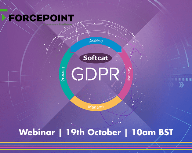 events GDPR webinar forcepoint